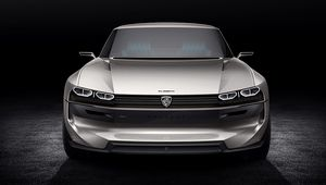 Peugeot e-Legend Concept: retour vers le futur avec la 504 Coupé