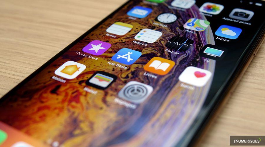 Apple iphone xs max ecran