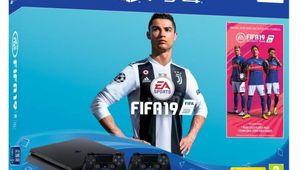Bon plan – PlayStation 4500 Go avec Fifa 19 et 2 manettes pour 320€