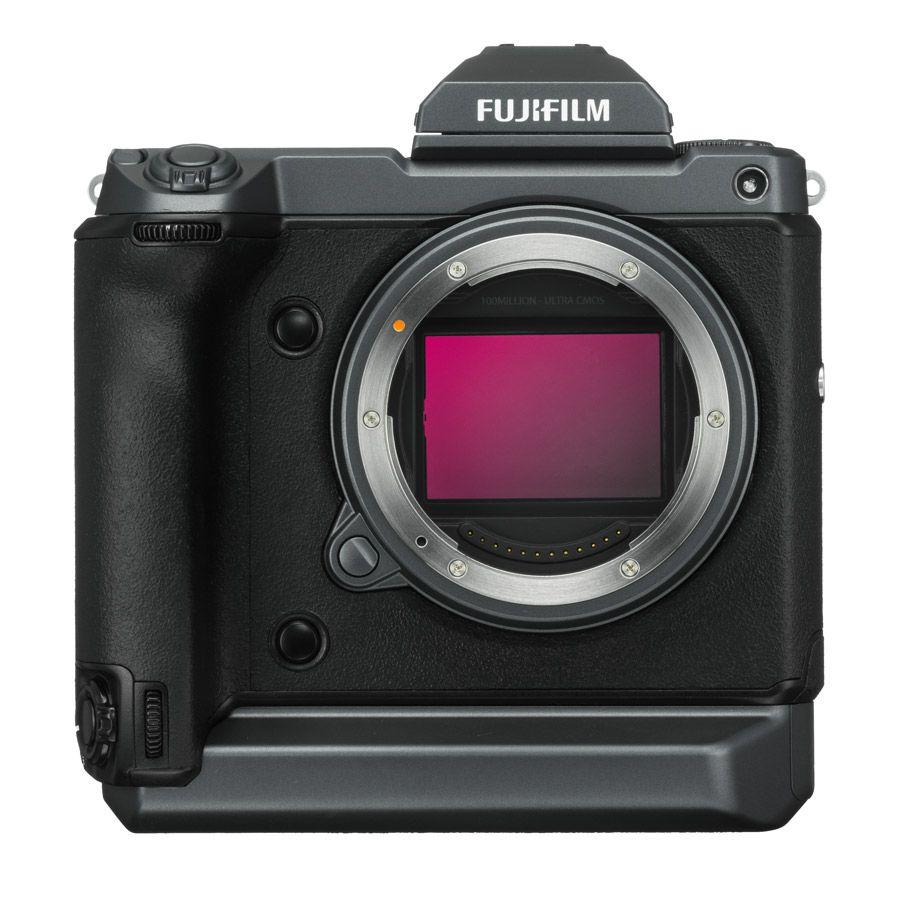 GFX  100 face capteur / moyen format