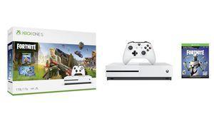 Un pack Xbox OneS avec Fortnite annoncé par Microsoft
