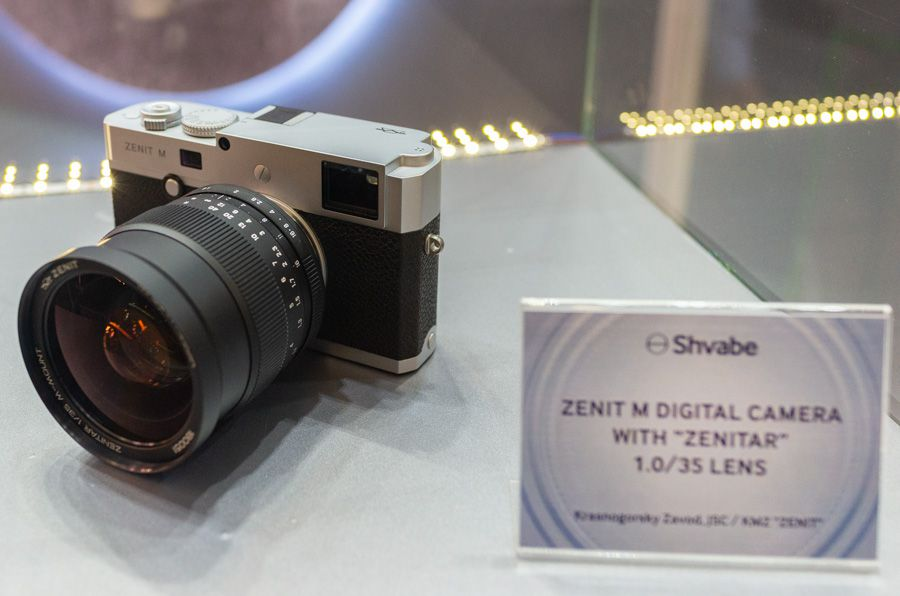 Zenit M présenté à la photokina 2018