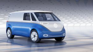 Volkswagen I.D Buzz Cargo: le flower power version utilitaire