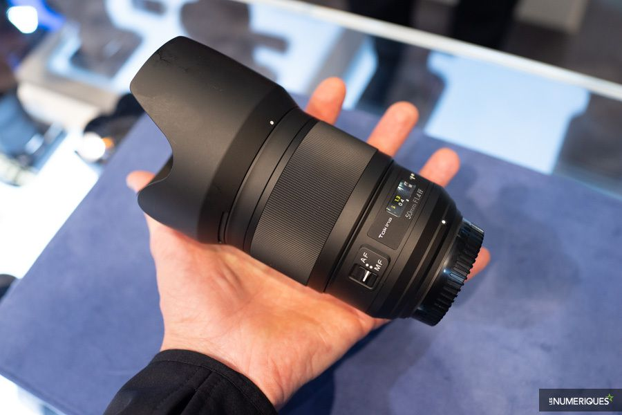 Tokina 50 mm f/1,4 opera photokina 2018