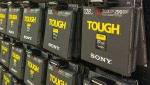 La carte résistante SF-G Tough de Sony bientôt disponible