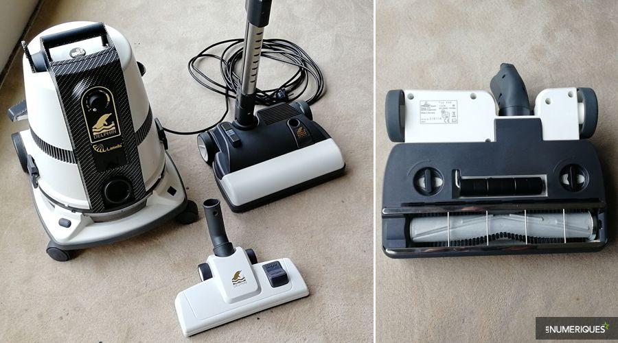 delphin combine un aspirateur et un purificateur d 39 air. Black Bedroom Furniture Sets. Home Design Ideas