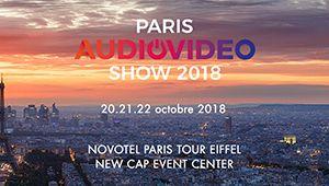 Le Paris Audio Video Show revient pour sa 41e édition