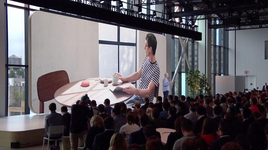 Conférence de presse Made by Google / Rick Osterloh