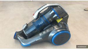 Hoover présente son aspirateur-traîneau sans sac et sans fil