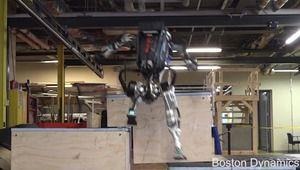Vidéos: le robot Atlas bondit comme un sportif, Spot sur un chantier