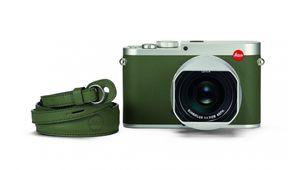 Leica s'arme d'un nouveau compactQ Kaki en édition limitée