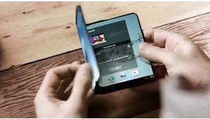 Le smartphone pliable de Samsung sera plutôt une tablette pliable