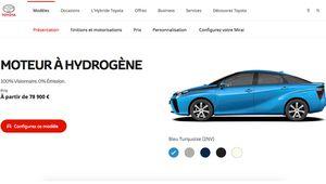 Toyota Mirai, l'hydrogène à partir de 78900€