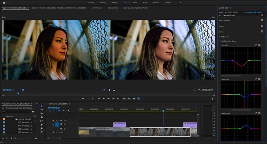 Adobe Premiere Pro 2019, v 13.0, nouvelles fonctionnalités étalonnage