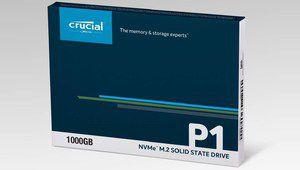 Crucial P1: un premier SSD M.2 PCIe à bas prix