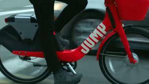 Jump, le vélo électrique d'Uber, arrive en France en 2019