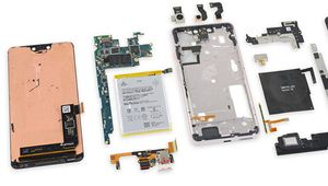 iFixit démonte les Pixel 3 et Pixel 3 XL: des écrans Samsung et LG