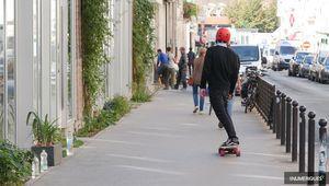 e-trottinettes, e-skates… la micromobilité bat des records en France