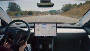 Tesla Autopilot: la conduite autonome sur autoroute enfin disponible