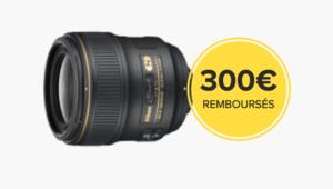 Bon plan – Jusqu'à 300€ d'ODR chez Nikon
