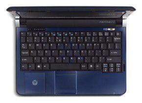 Acer Aspire One 571 vu de dessus