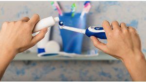 On détartre le comparatif des brosses à dents électriques!