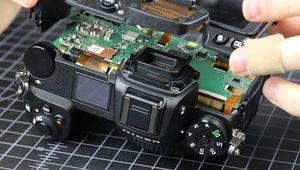 Le Nikon Z7 démonté: la meilleure construction tous temps