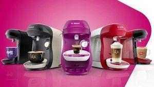 Bosch lance une nouvelle cafetière, la Tassimo Happy