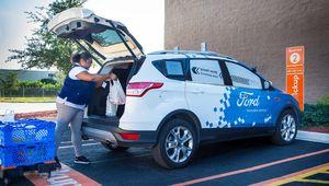 Voiture autonome: Ford s'associe à Walmart pour livrer vos courses
