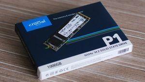 Black Friday – Le SSD NVMe Crucial P1 de 1 To à 189,99€