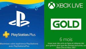 Black Friday – 1 an de PS Plus à 48€, 6 mois de Xbox Gold à 20€