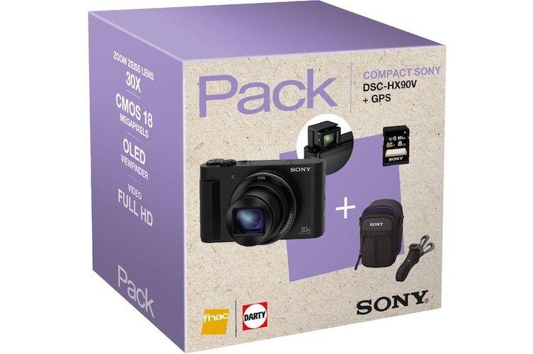 Cyber Monday – Le compact Sony DSC-HX90V en pack à 300€