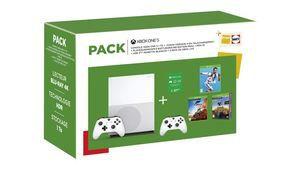 Cyber Monday – Xbox One S 1 To avec 3 jeux et 2 manettes pour 250€