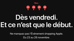 Apple organisera aussi son Black Friday