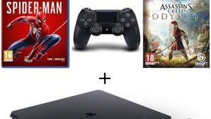 Black Friday – PS4 1 To + 2e manette + Spider-Man + AC Odyssey à 330 €
