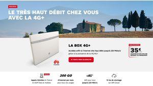 SFR double les débits de sa box 4G