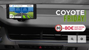 Black Friday – Le Coyote NAV+ à 269 €