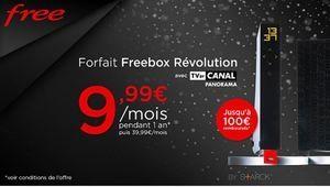 [MàJ] La Freebox Revolution à 9,99€/ mois sur Vente Privée
