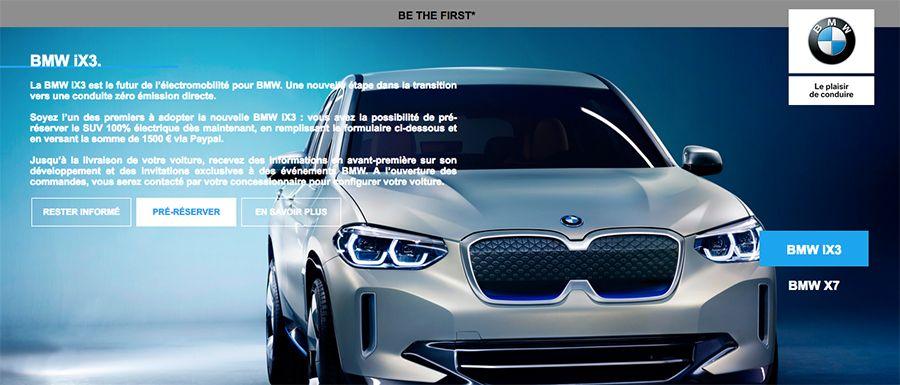 BMW iX3: il est temps de précommander votre SUV électrique