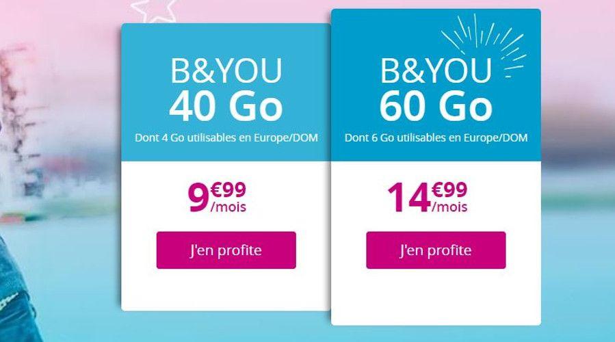 Sosh prolonge son forfait mobile 50 Go à 9,99 euros / mois