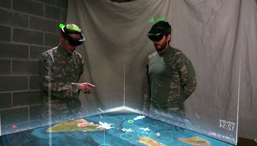 Microsoft décroche un contrat avec l'armée américaine — HoloLens