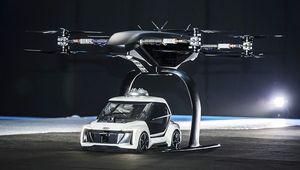 Audi, Airbus et Italdesign font voler Pop.Up Next, la navette volante