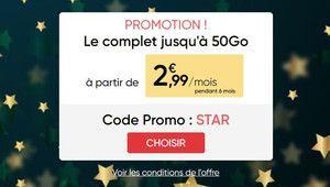 Bon Plan – Forfait Prixtel 5 Go à 2,99€/mois pendant 6 mois