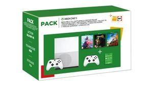 [MàJ] Bon plan – Xbox One S 1To avec 2 manettes et 7 jeux pour 250€