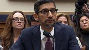 Sundar Pichai a cherché à rassurer devant le Congrès américain