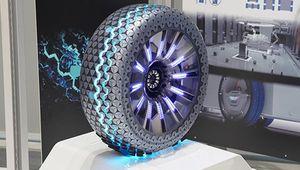 Hankook Hexonic: le pneu connecté du véhicule autonome