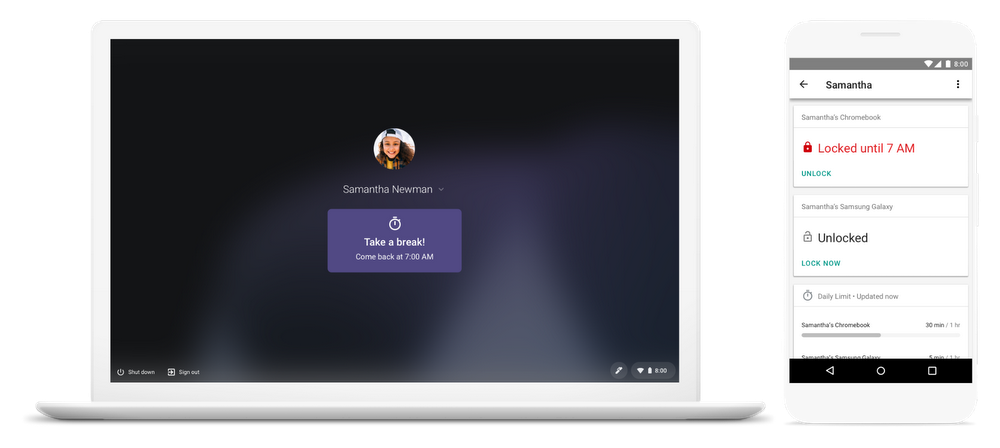 Chromebook heure limite consultation