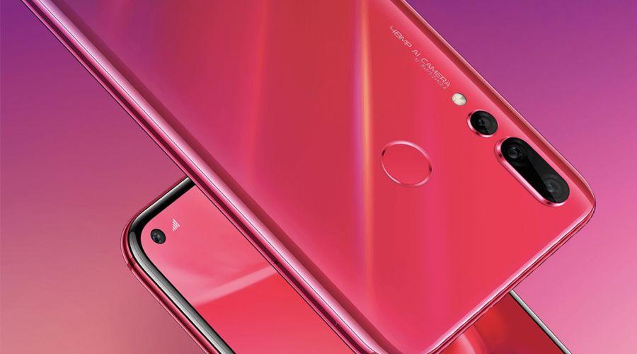 Huawei présente le Nova4 avec son module photo dans l'écran