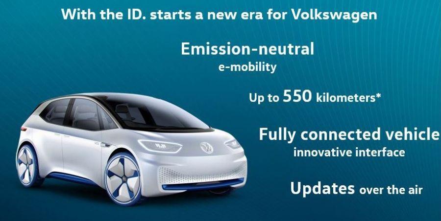 Volkswagen I.D.: 550km d'autonomie au prix d'une Golf diesel