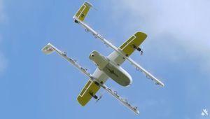 Google Wing: trop bruyant, le drone sera repensé